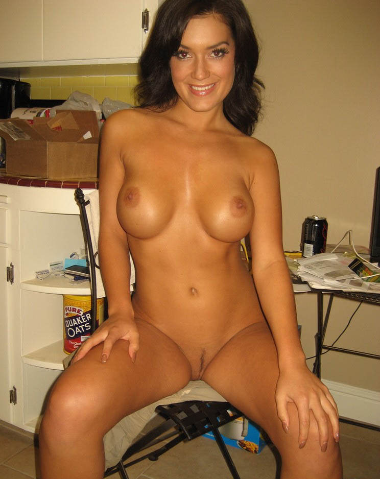 Naked hot ladies in stockings