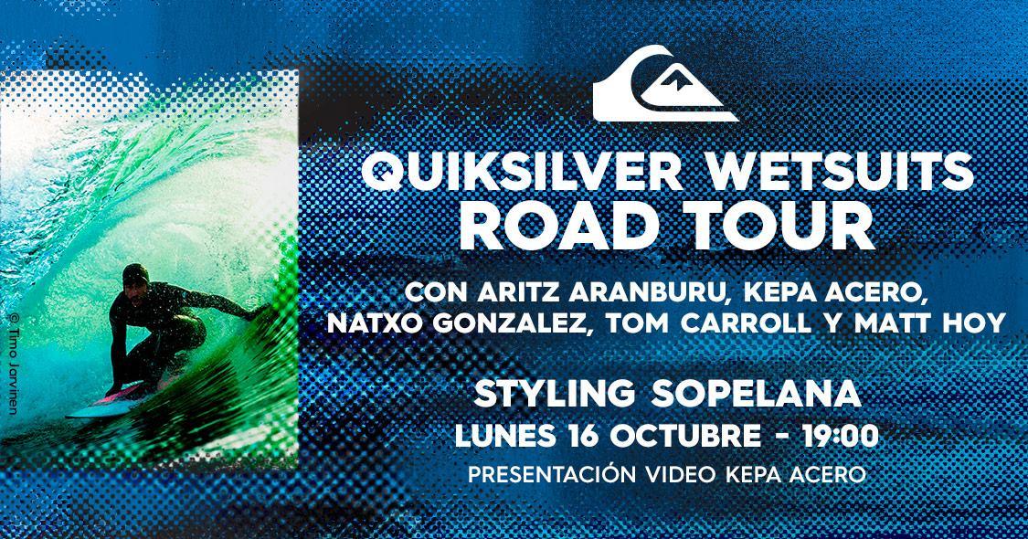 quiksilver wetsuits road tour