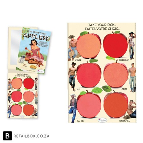 the Balm lip and cheek palette