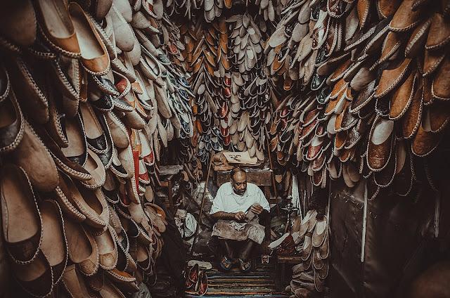 حرف الجلود والأحذية
