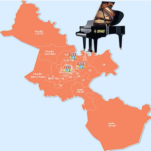 Nơi Bán đàn piano cơ nhập khẩu tại Hồ Chí Minh