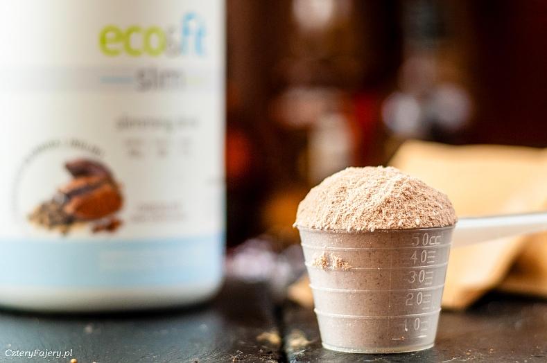 Koktajl bialkowy Eco-Fit Slim wsparcie w odchudzaniu