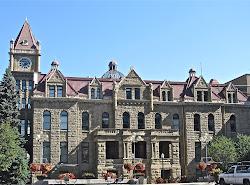 calgary building municipal hall stampede trip