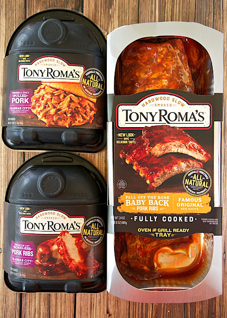 Tony Roma's BBQ - fully cooked and ready in minutes. Tastes just as good as any restaurant. LOVE how quick and easy this is to make!