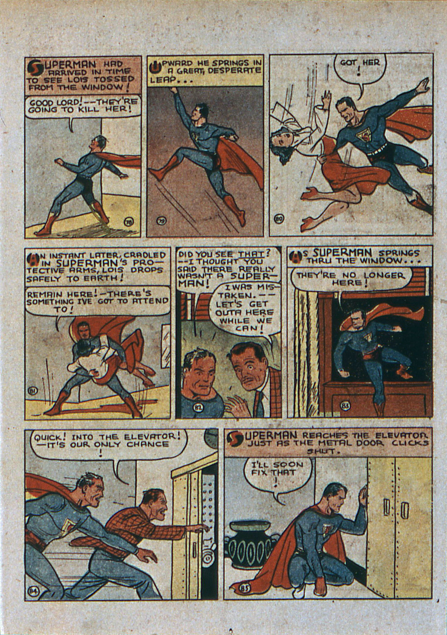 Read online Action Comics (1938) comic -  Issue #6 - 14