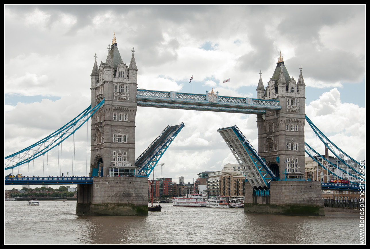 Puente de la Torre de Londres (Tower Bridge London)