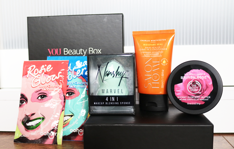 You Beauty Box - March 2016 review