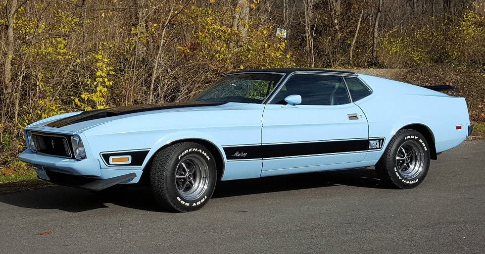 'Baby' Blue 1973 Ford Mustang Mach 1 Could Be Yours For $14K