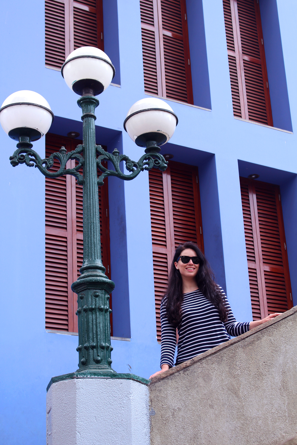 Colourful Miraflores Street in Lima, Peru - travel blog