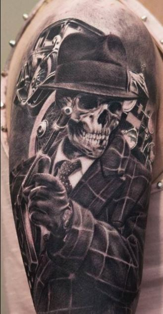 shoulder Tattoos For Men with meaning