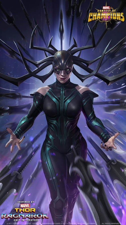marvel contest of champions hela