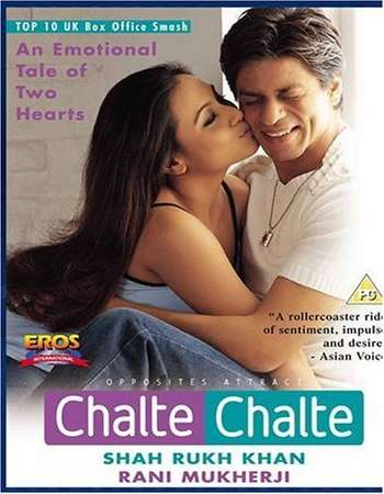Chalte Chalte 2003 Hindi 700MB HDRip 720p ESubs HEVC Watch Online Google Drive Free Download downloadhub.in