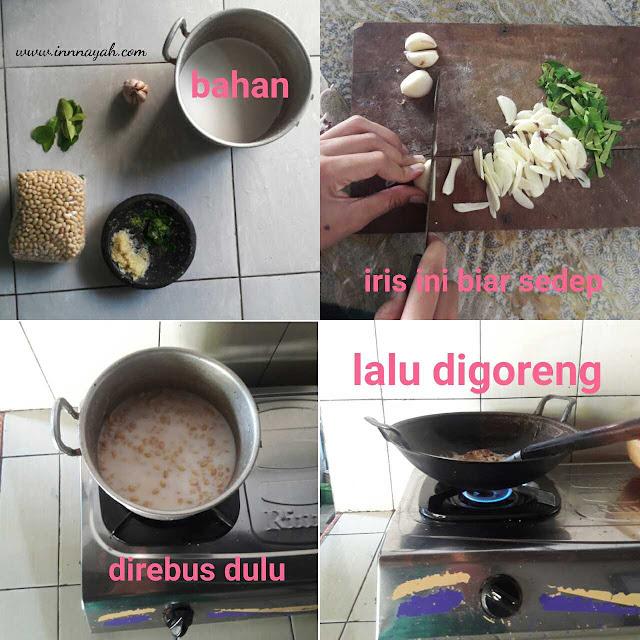 Cara membuat kacang bawang