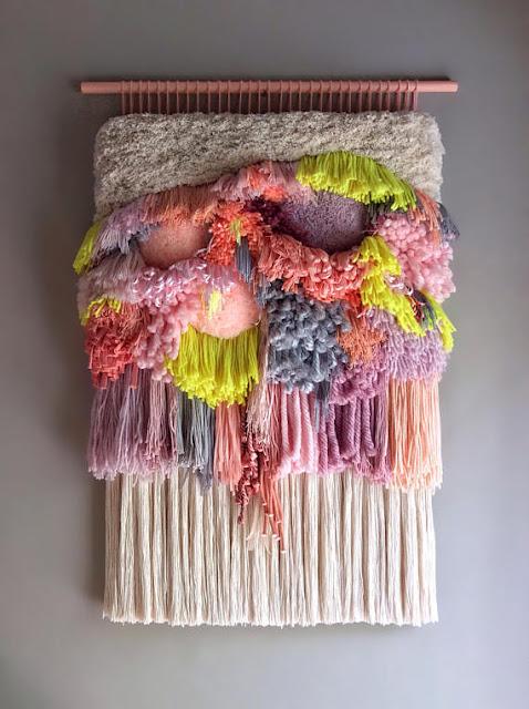 woven hanging tapiz