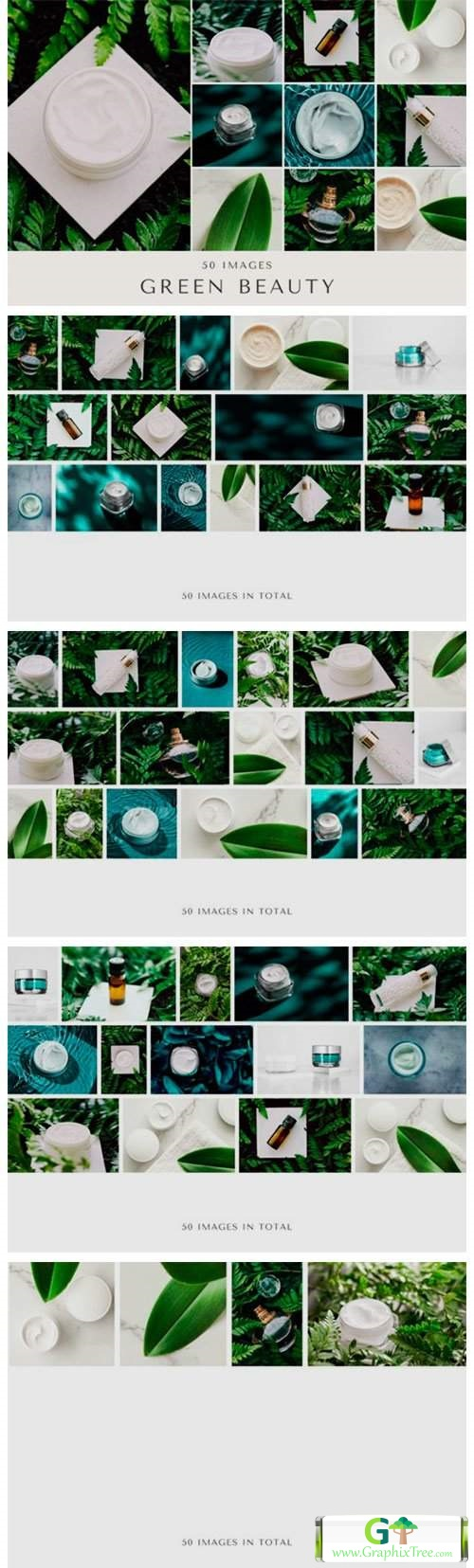 50 Images | Green Beauty Bundle