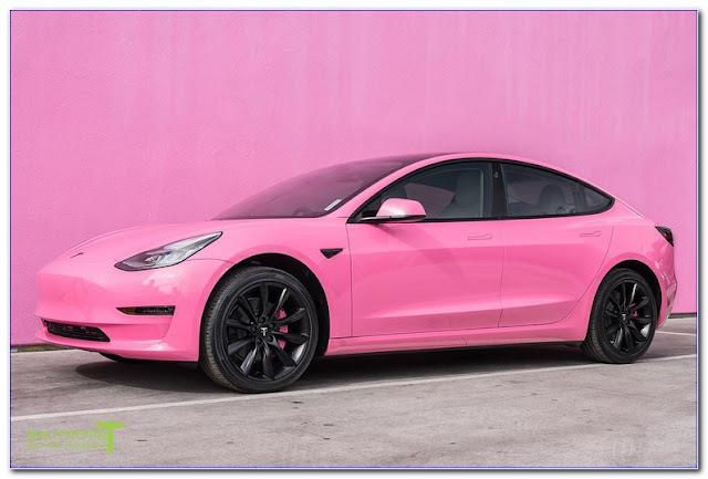 Pink Car WINDOW TINT Film Photo
