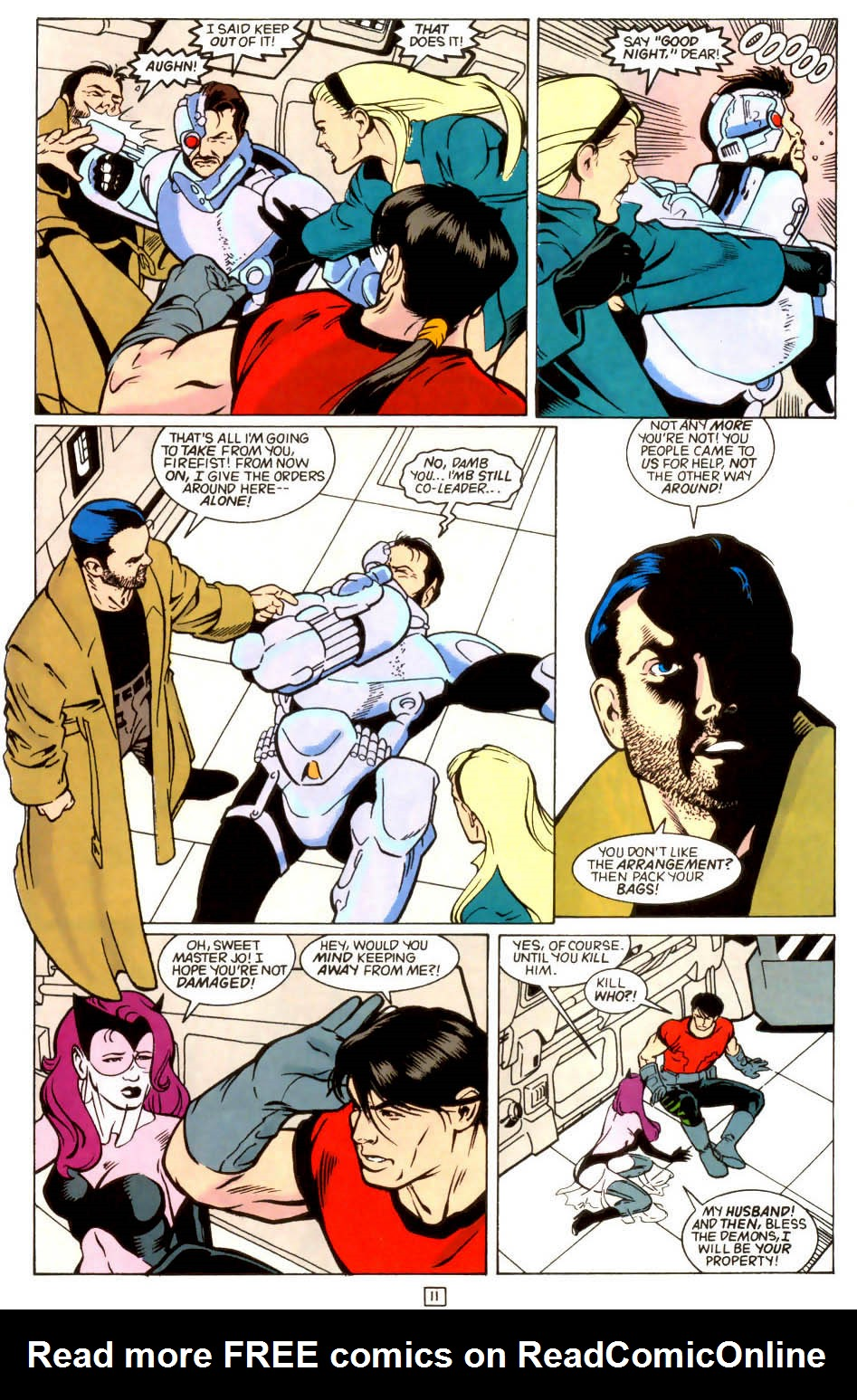 Legion of Super-Heroes (1989) 45 Page 10