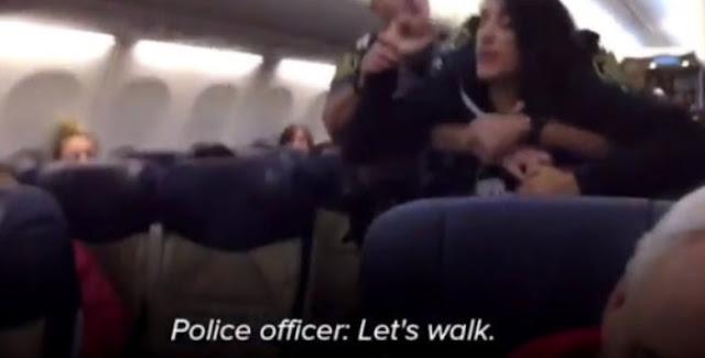 Wanita Muslim Hamil Diseret Paksa Keluar dari Pesawat AS
