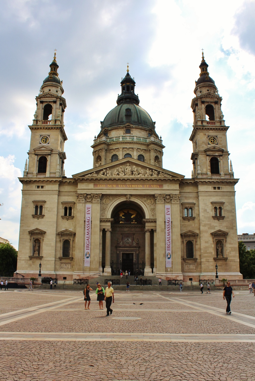 St Stephen's Basilica Church in Budapest