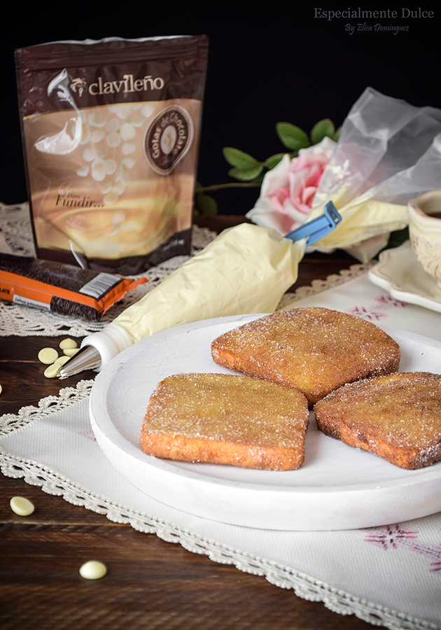 receta torrijas tradicionales con miel y leche sin gluten