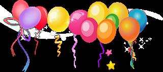 Znalezione obrazy dla zapytania balon urodzinowy bez tła