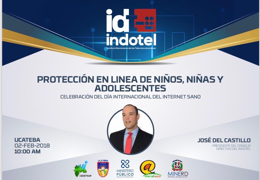 """José del Castillo Saviñón, disertará este viernes  sobre la """"protección en línea de niños, niñas y adolescentes, en UCATEBA"""