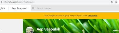 Google akan menonaktifkan Google Plus