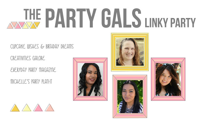 Party Gals Linky Party Easter theme: We are sharing Easter inspiration for the upcoming Easter festivities.