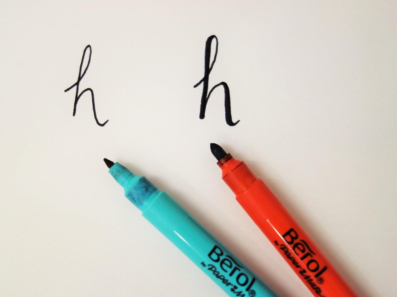 Always arty adventures in modern calligraphy