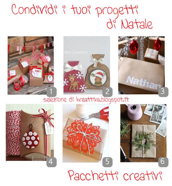 Pacchetti creativi natalizi
