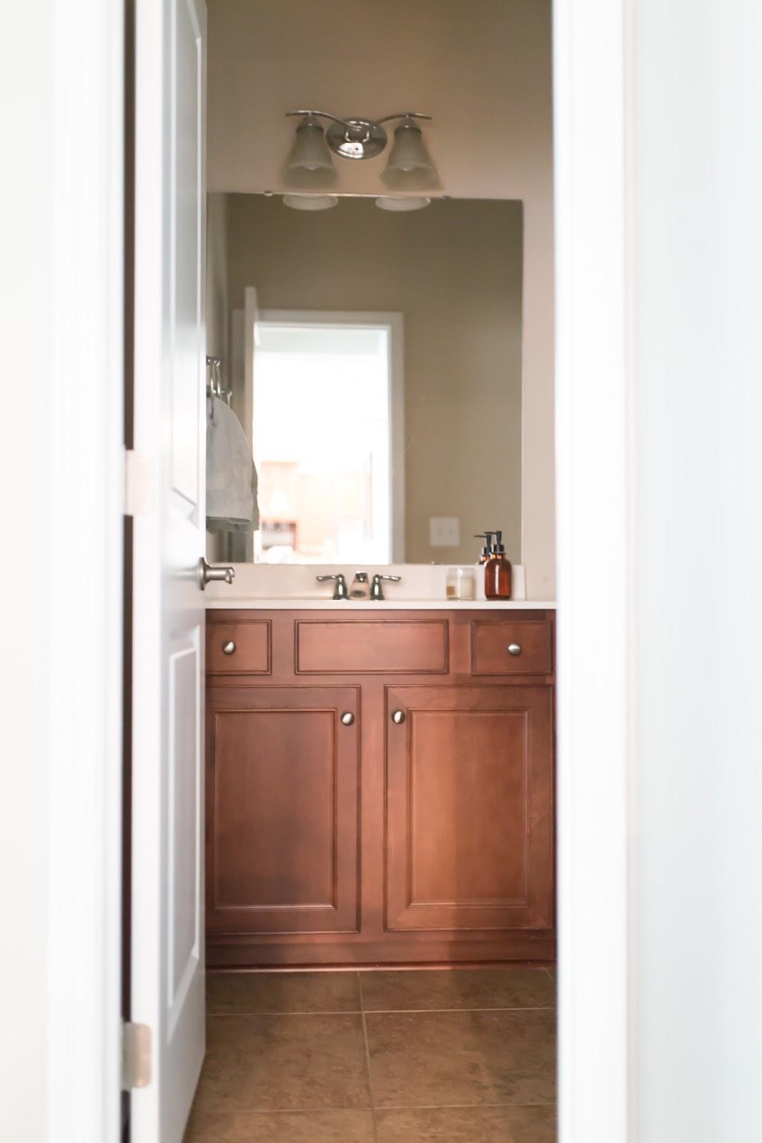 Modern Farmhouse Bathroom Renovation :: Inspiration - Home Sweet Ruby