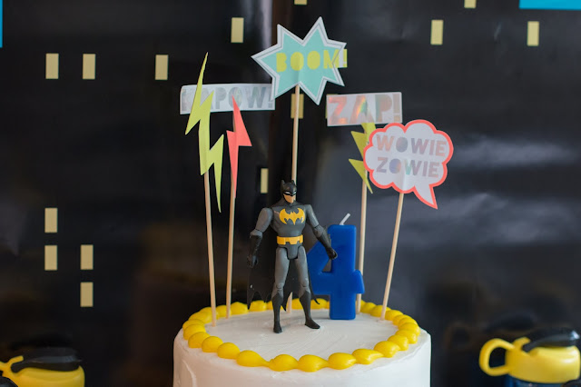 Easy Batman Cake