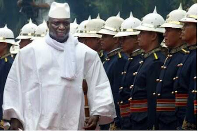 See the Gambia Military Strength Jammeh Relies on to Defeat Nigeria and other ECOWAS Members