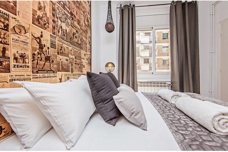decoración dormitorio inspirada en el fútbol