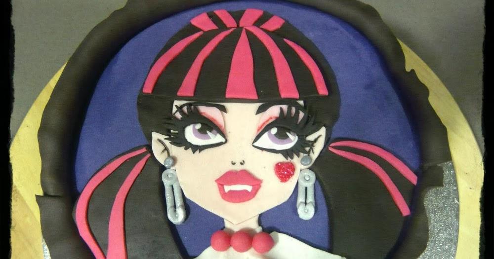 Monster High Fondant Birthday Cake