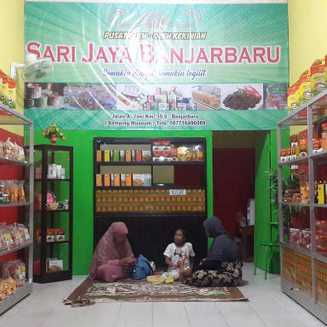 Sentra Oleh-Oleh Sari Jaya Banjarbaru