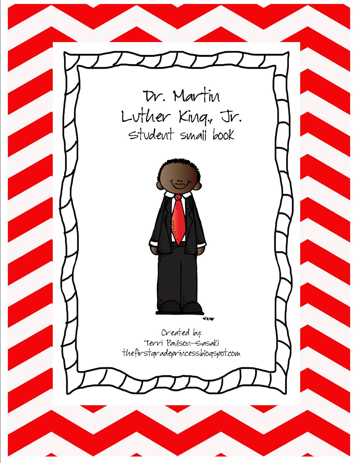 Kinder Princess Martin Luther King Jr