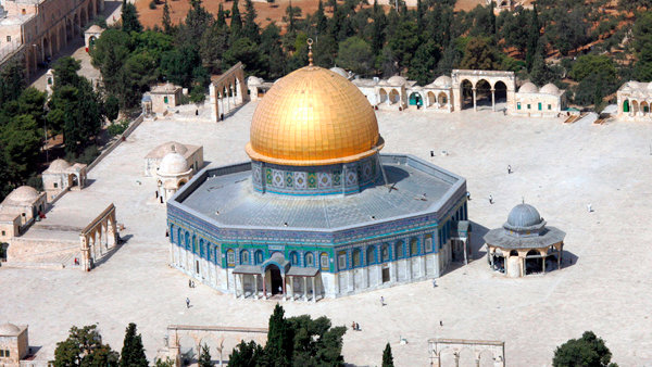 Dome of the Rock, Bintang Segi Delapan