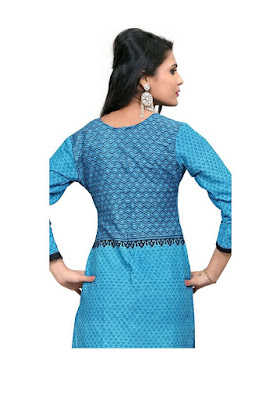 Cotton Printed Unstitched Kurti Material Rs. 79
