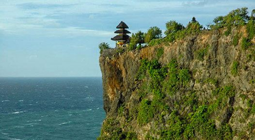 Uluwatu Temple Bali - Uluwatu Tour Package - Bali temple on the cliff - Bali Hald-day Itinerary