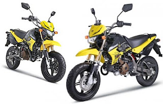Spesifikasi Dan Harga Kawasaki KSR 110cc