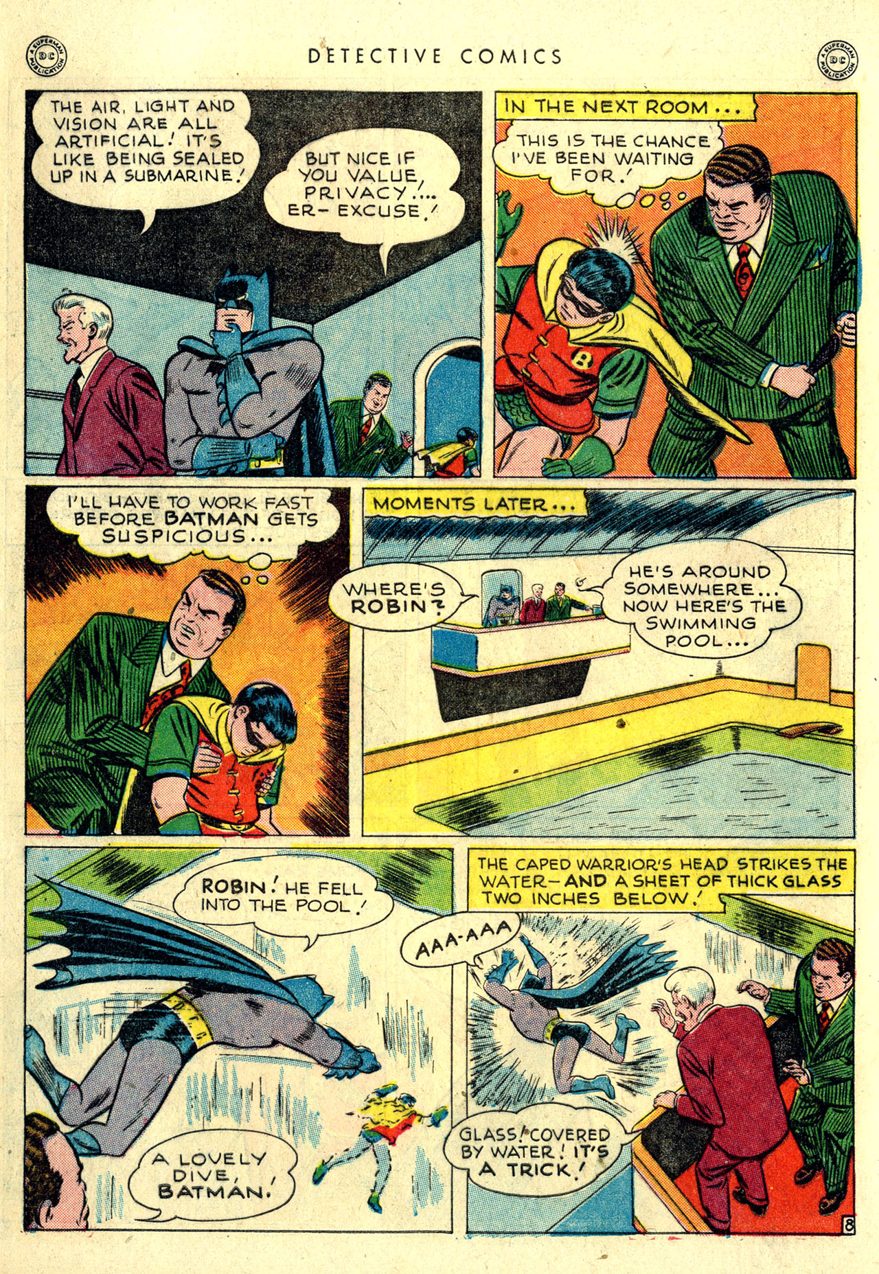 Read online Detective Comics (1937) comic -  Issue #115 - 10