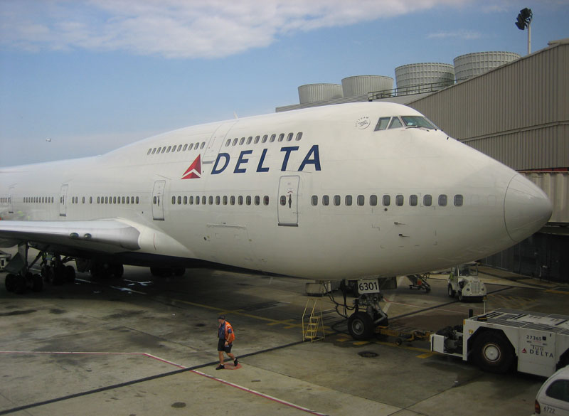 Jet Airlines: Delta Air Lines 747
