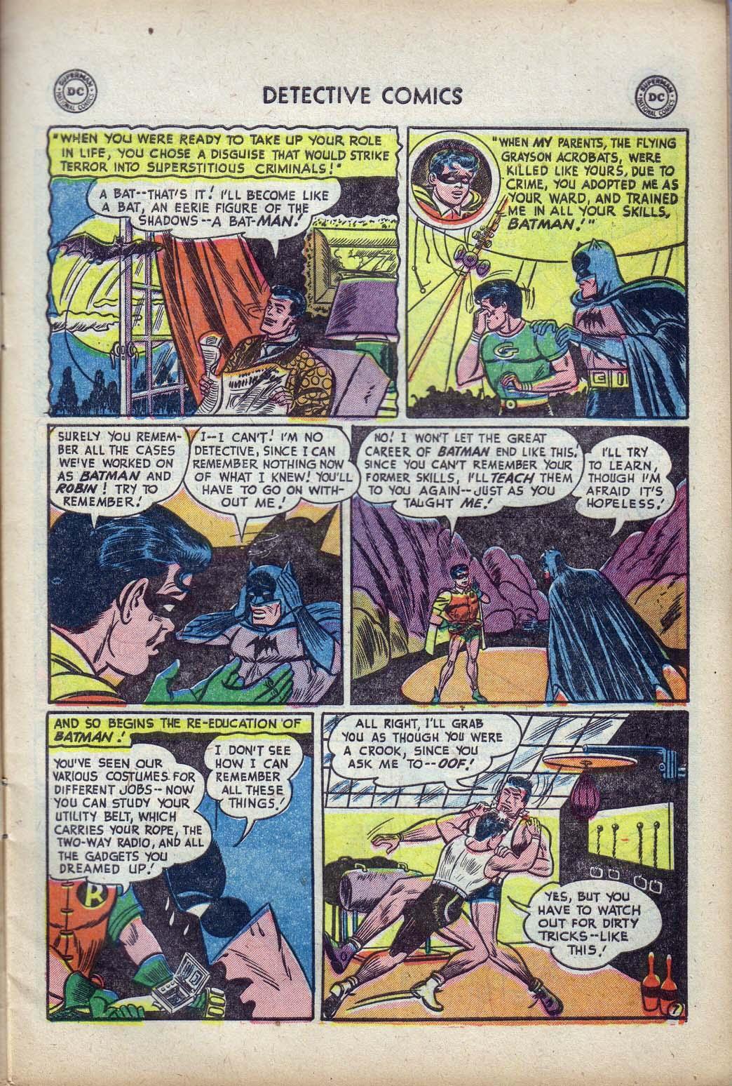 Read online Detective Comics (1937) comic -  Issue #190 - 9
