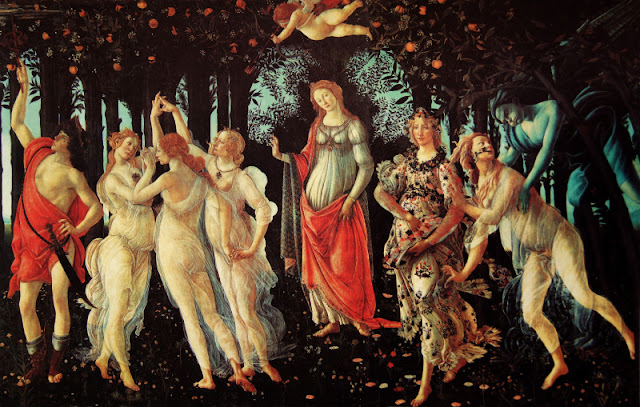 boticelli Allegory of Spring primavera