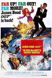 On Her Majesty's Secret Service (1969) Hindi - English Movie Download 400MB