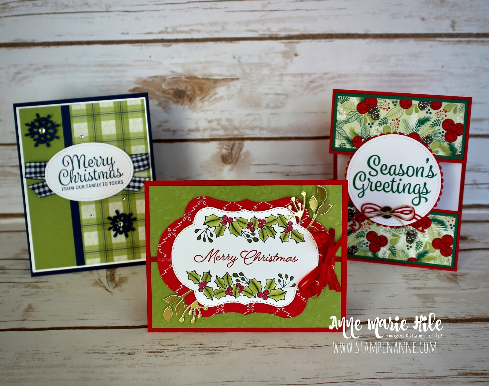 Stampin\' Anne: Christmas in July for Facebook Live