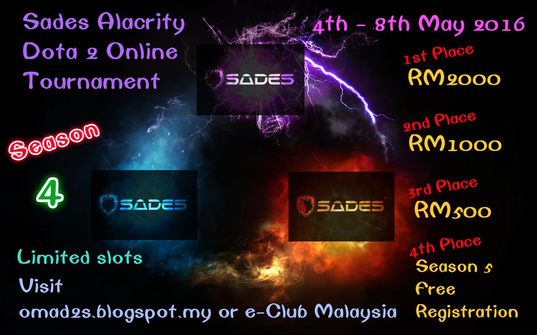 online malaysia amateur dota 2 series
