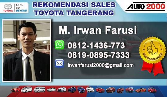 Rekomendasi Sales Toyota Bintaro Sektor 7 Tangerang
