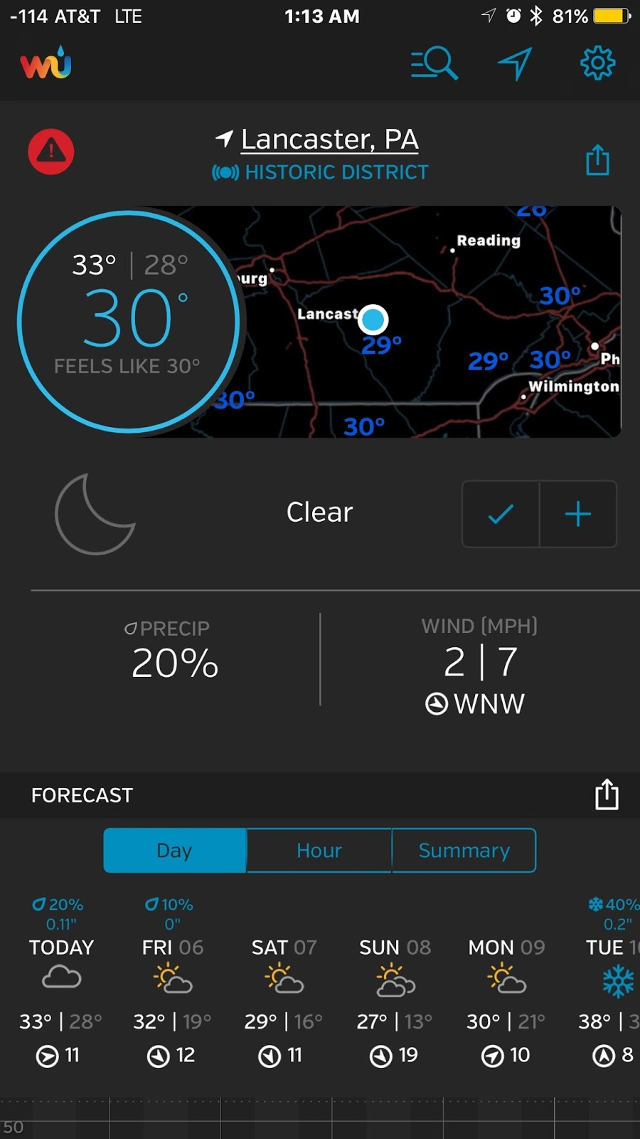 Magnetic Madness Labs: Weather Underground : The Best Weather App